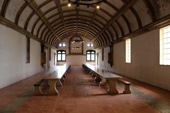 Convento de la Orden de Cristo: refettorio