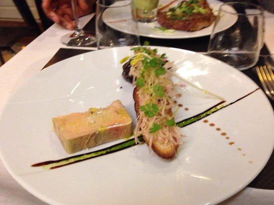 Au Rez de Chaussée : Foie gras maison un délice