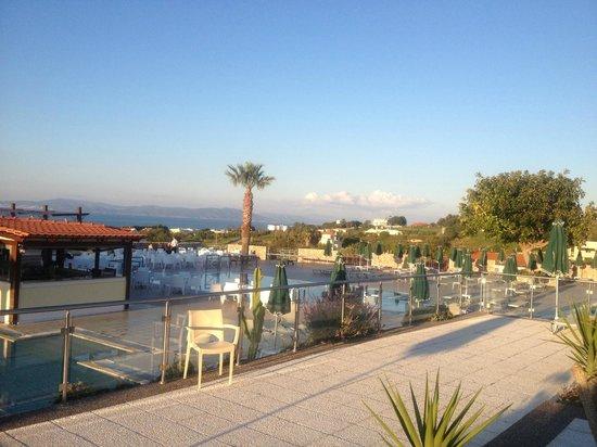 Aegean View Aqua Resort: Room with a view