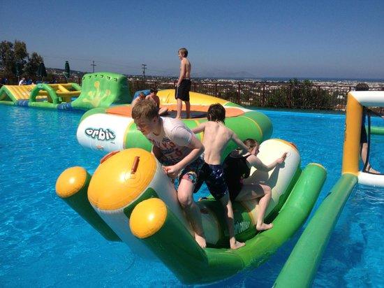 Aegean View Aqua Resort: Water park