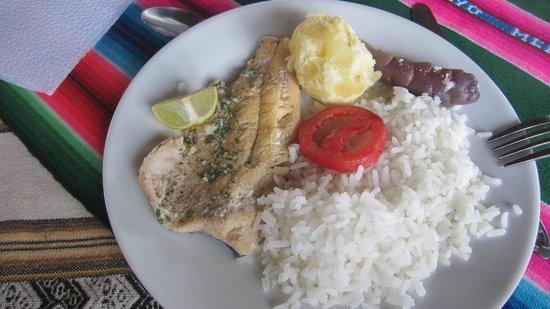 Hospedaje Samary: poisson du lac