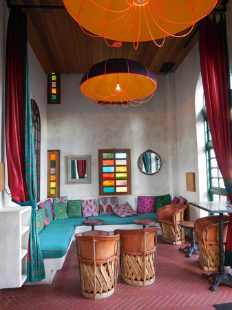 Pod 39 Hotel: Rooftop bar - interno