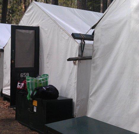 Half Dome Village: Tent #659