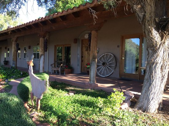 Adobe Hacienda Bed & Breakfast: What a peaceful spot