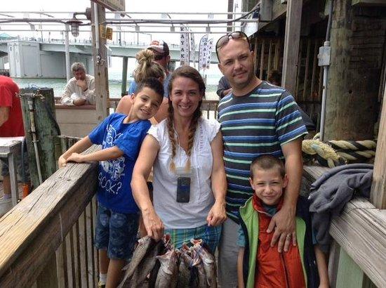 Hubbard's Marina: Fishing lot