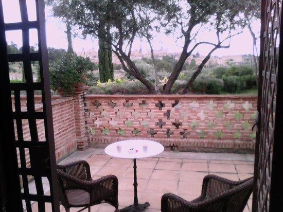 Cigarral de Caravantes: vistas desde la terraza