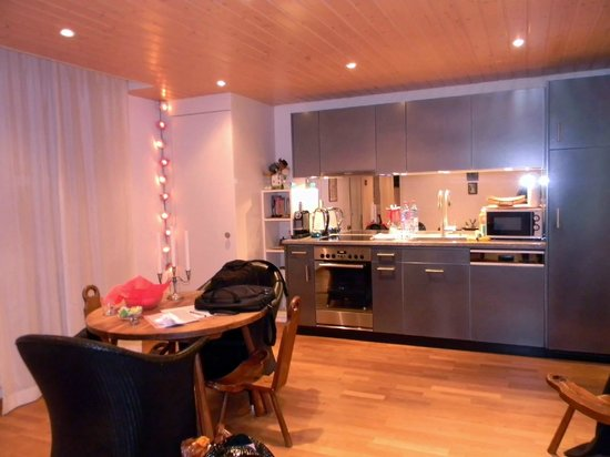 Apartments Justingerweg : The kitchen