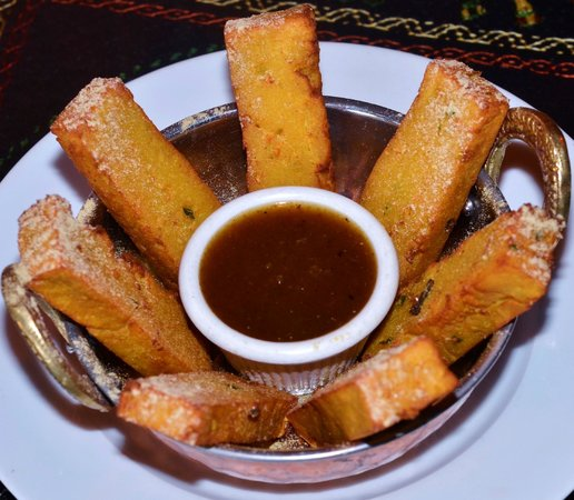 Shanti Restaurant: Chickpea Fries