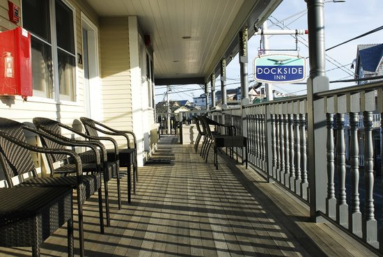 The Dockside Inn: from my corner room