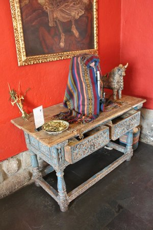 Casa Andina Private Collection Cusco : Chá de coca