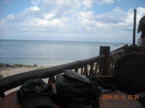 Sunscape Sabor Cozumel: vue terrasse du bar