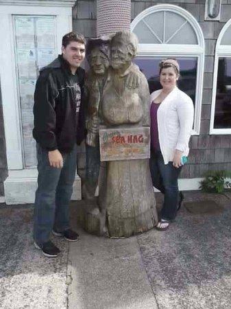 Gracie's Sea Hag: Family visit