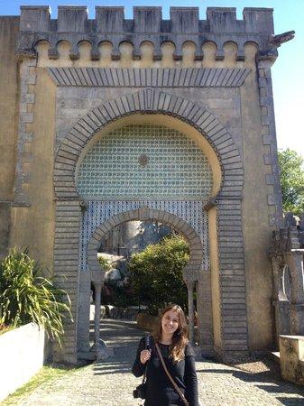 Palacio Nacional de la Pena: Entrando no palácio