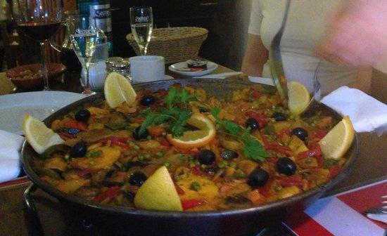 El Patio: The veggie paella