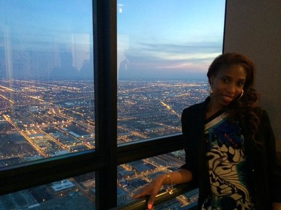 Skydeck Chicago - Willis Tower : Me