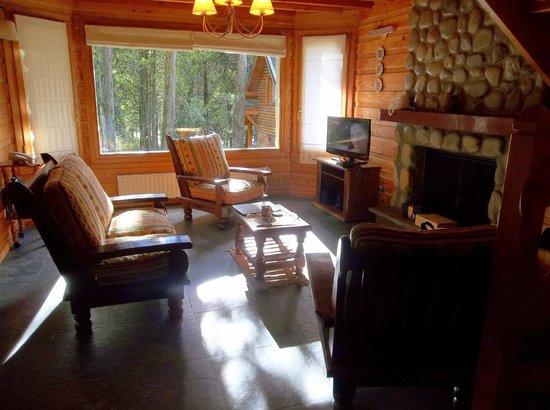 Bosque Dormido Cabañas & Spa : Interior