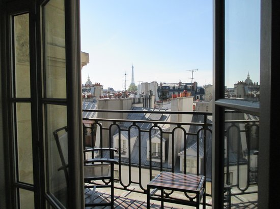 K+K Hotel Cayre: Eiffel tower view