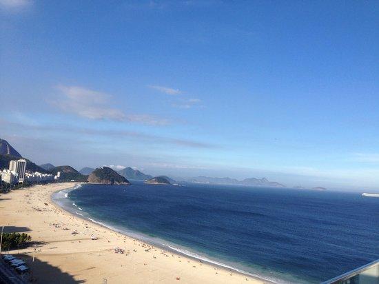 Pestana Rio Atlantica Hotel: la vue de la chambe
