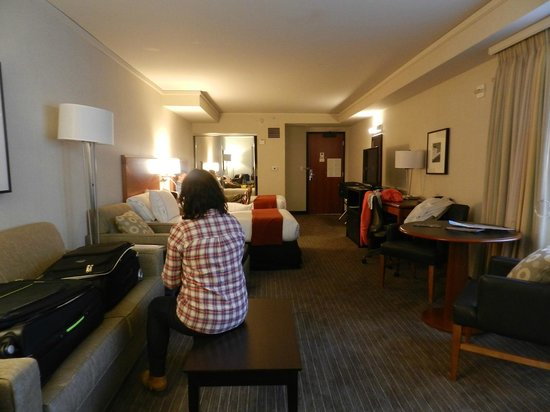 Holiday Inn Express Hotel & Suites San Francisco Fisherman's Wharf: cuarto family suite