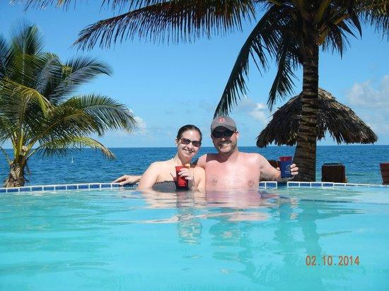Jaguar Reef Lodge & Spa: Jamie and I..