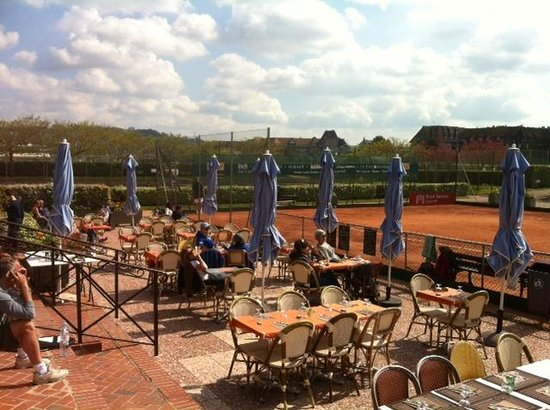 Le Tie Break : terrasse du tie break