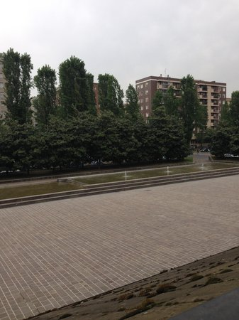 Ibis Milano Ca Granda: View from the hotel room
