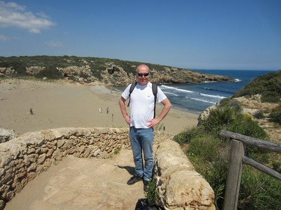 Relais Torre Marabino: Beautiful beach within nearby Nature Reserve