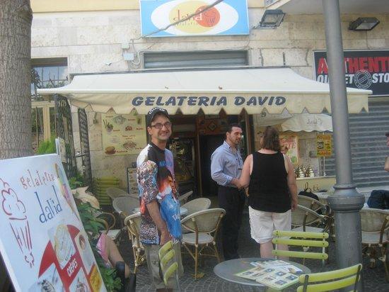 Gelateria david: Such wonderful gelato!