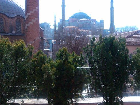Zeynep Sultan Hotel: вид с ресторана