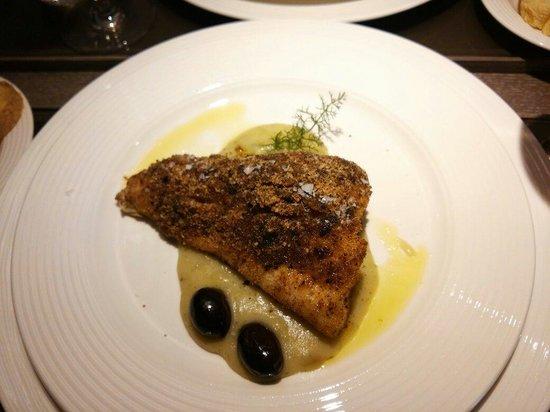L'Ottava Nota: Trancio di pesce bianco in crema di finocchi