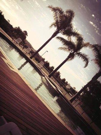 Ramada Resort Diamond Beach: Bottom pool. So quiet here today