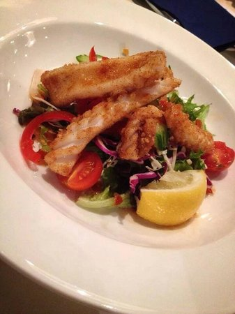 Ramada Resort Diamond Beach: Yummy salt and pepper squid