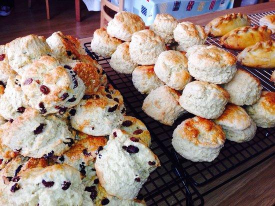 The Great British Tea Shop: Fresh scones