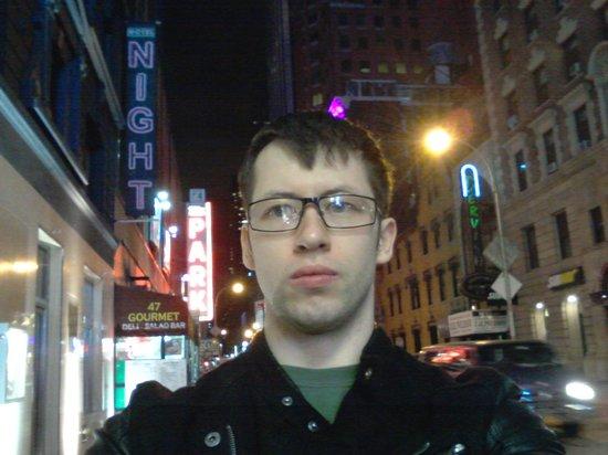 Night Times Square : я у входа
