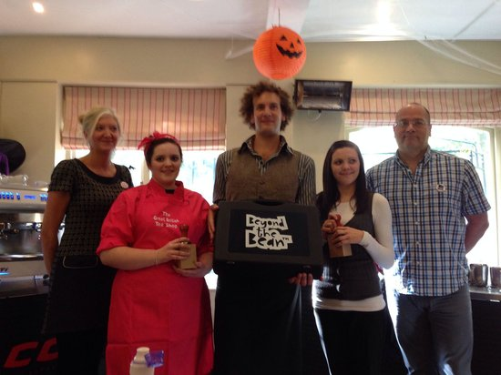 The Great British Tea Shop: Runner up in North Devon Barista Championships