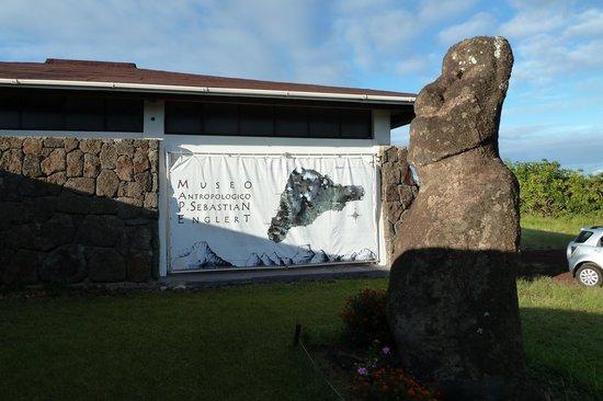 Museo Antropologico P. Sebastian Englert : Das Museum von außen