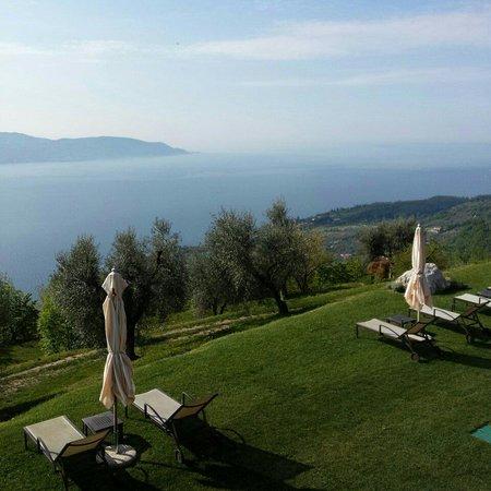 Lefay Resort & Spa Lago di Garda: La vista dalla mia stanza. Piano -2