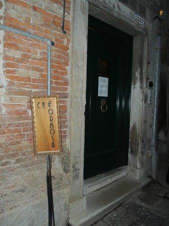 Ca Formosa : entrata della struttura