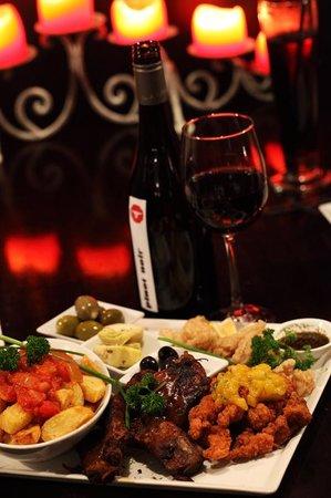 Cortado Restaurant: Tapas Menu at Cortado