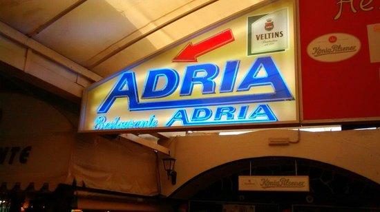 Restaurante Adria: Entrada