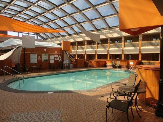 Indoor Atrium Pool Picture Of Radisson Hotel Milwaukee