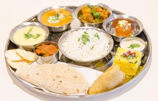 Sanskruti Restaurant: Thali