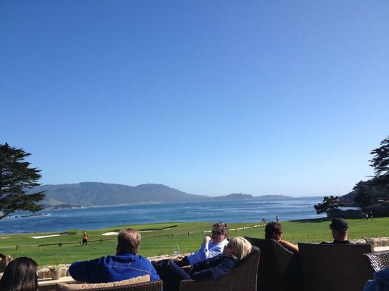 The Lodge at Pebble Beach: View from The Bench