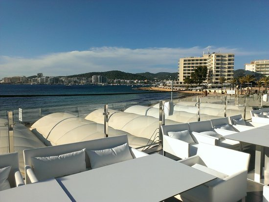 Marina Playa Hotel & Apartments : vista mare