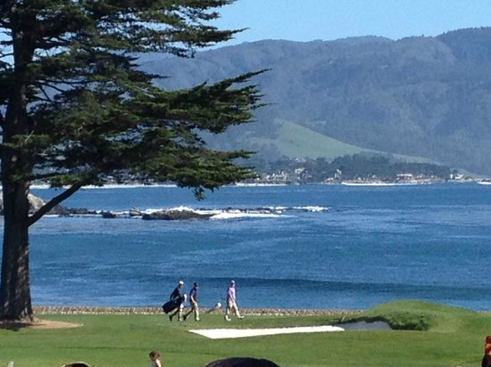 The Lodge at Pebble Beach: 18th Hole