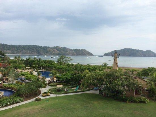 Los Suenos Marriott Ocean & Golf Resort: View from ocean view room.