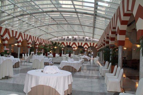 Silken Al-Andalus Palace Hotel: sala de jantar