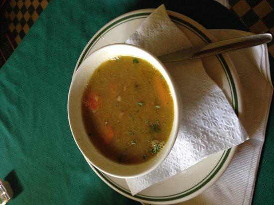 Old Cunucu House: Iguana soup ....yum!!!