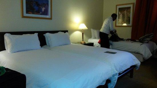 Atlas Les Almohades Casablanca: Beds
