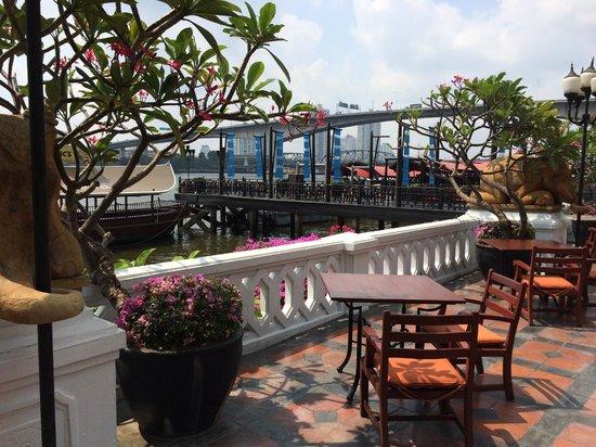 Anantara Riverside Bangkok Resort: River view